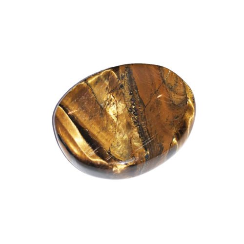 Tiger's Eye Thumb Stone