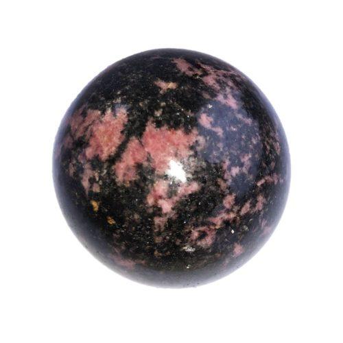 Rhodonite Bead - 60 mm
