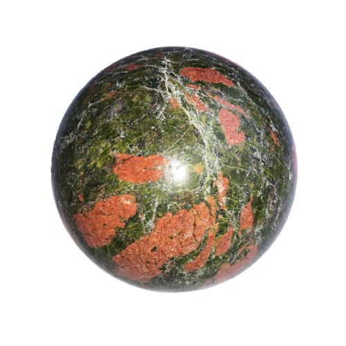 Unakite Bead - 60 mm