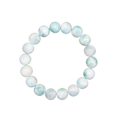 Larimar Bracelet - 10 mm Bead