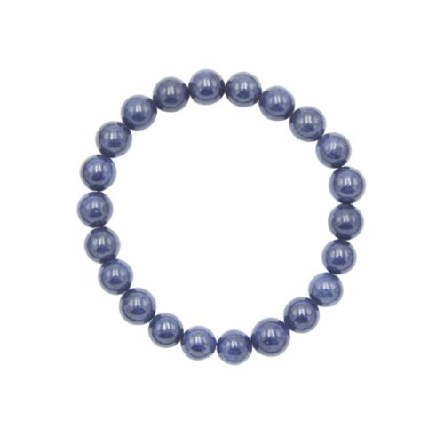 Sapphire Bracelet - 8 mm Bead