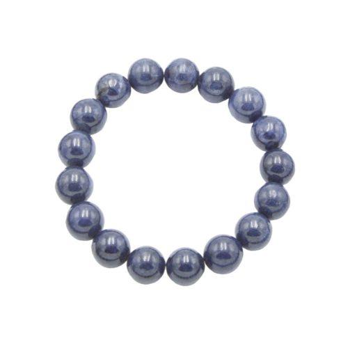 Sapphire Bracelet - 10 mm Bead