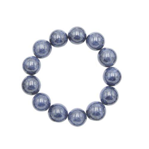 Sapphire Bracelet - 14 mm Bead