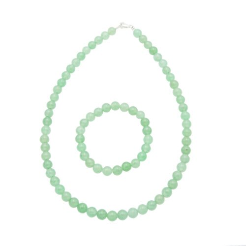 Aventurine Gift Set - 8 mm Bead