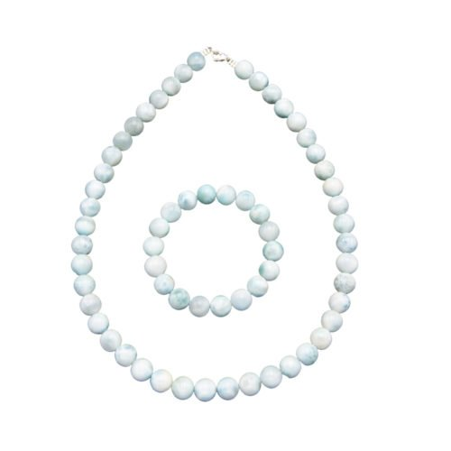 Larimar Gift Set - 10 mm Bead
