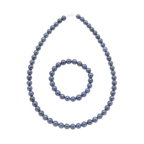 Sapphire Gift Set - 8 mm Bead