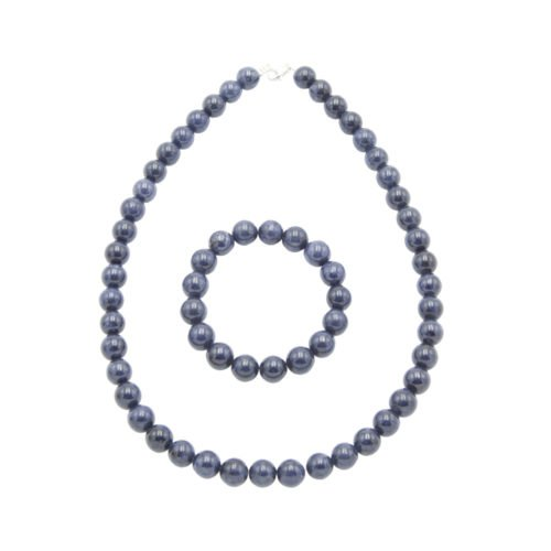 Sapphire Gift Set - 10 mm Bead
