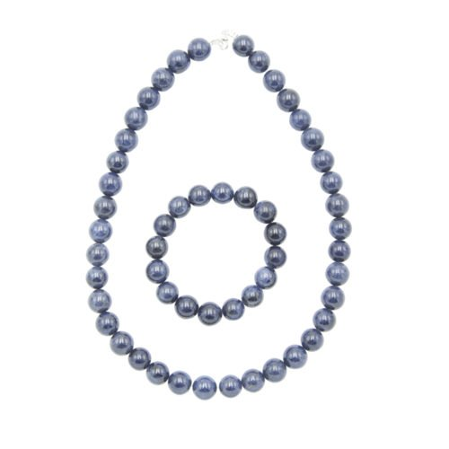 Sapphire Gift Set - 12 mm Bead