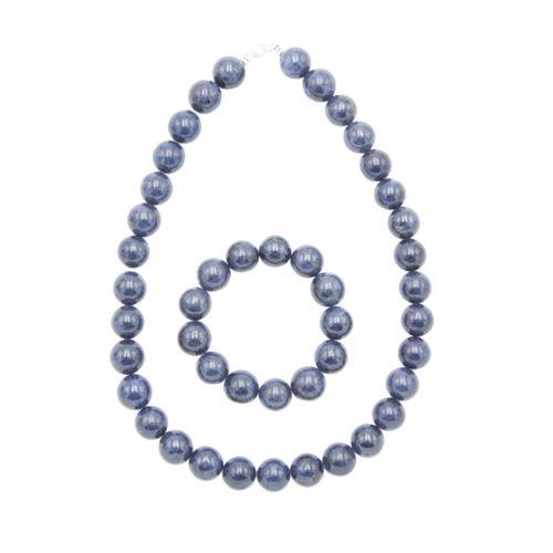 Sapphire Gift Set - 14 mm Bead