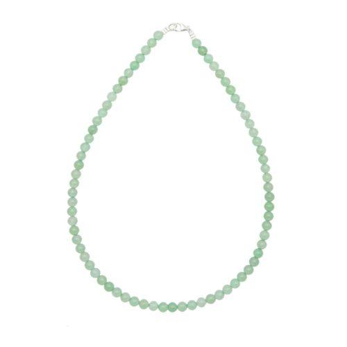 Aventurine Necklace - 6 mm Bead