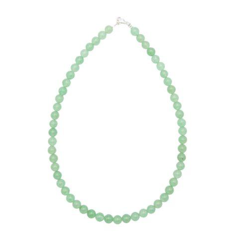 Aventurine Necklace - 8 mm Bead