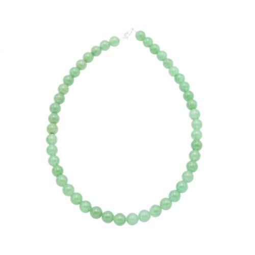 Aventurine Necklace - 10 mm Bead