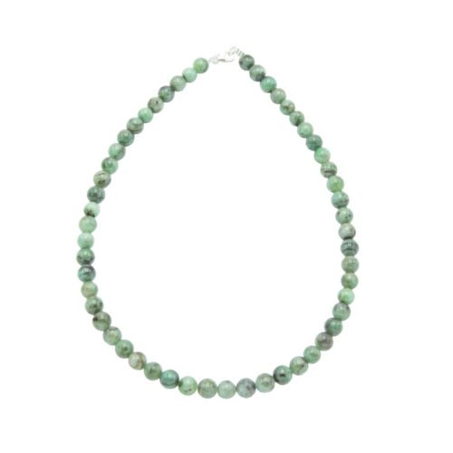 Emerald Necklace - 8 mm Bead