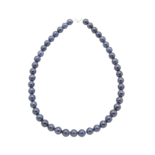 Sapphire Necklace - 10 mm Bead