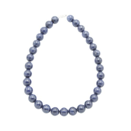 Sapphire Necklace - 14 mm Bead