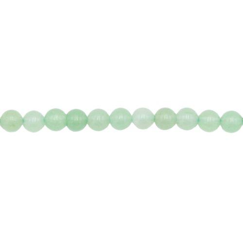 Aventurine Line - 6 mm Bead