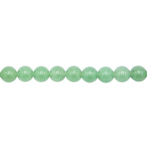 Aventurine Line - 10 mm Bead