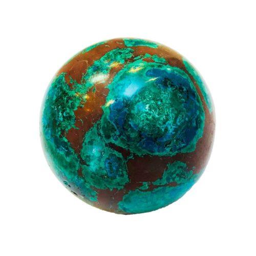 chrysocolla-sphere