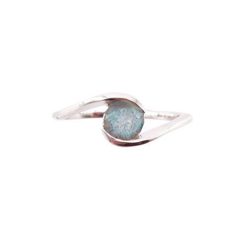 doriane labradorite silver ring