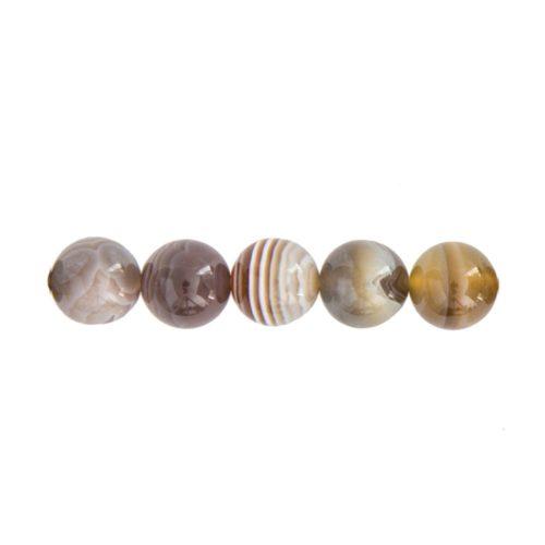 Botswana Agate Beads - 8mm