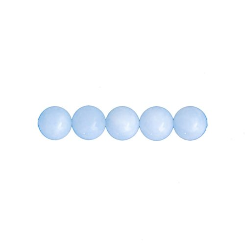 10 mm Aquamarine beads
