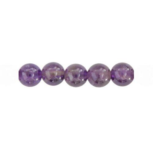 Bag of 5 Amethyst Beads ‒ 12 mm