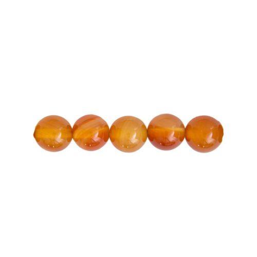 Carnelian Beads  8 mm