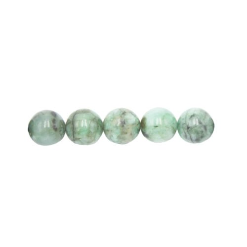 Emerald Beads 10 mm