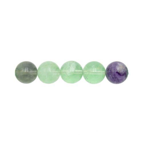 Rainbow Fluorite Beads 10 mm