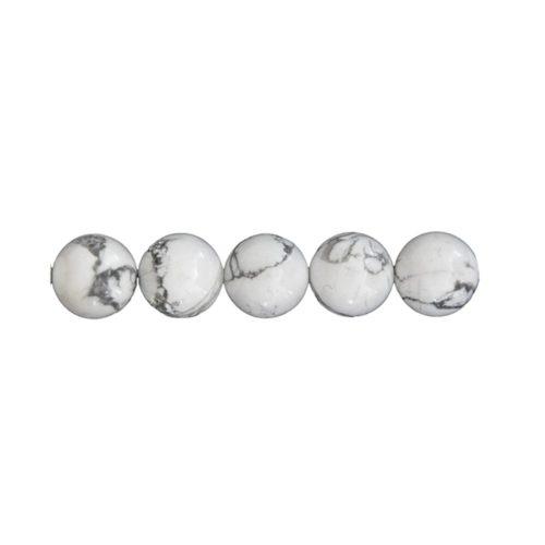 Howlite Beads 10 mm