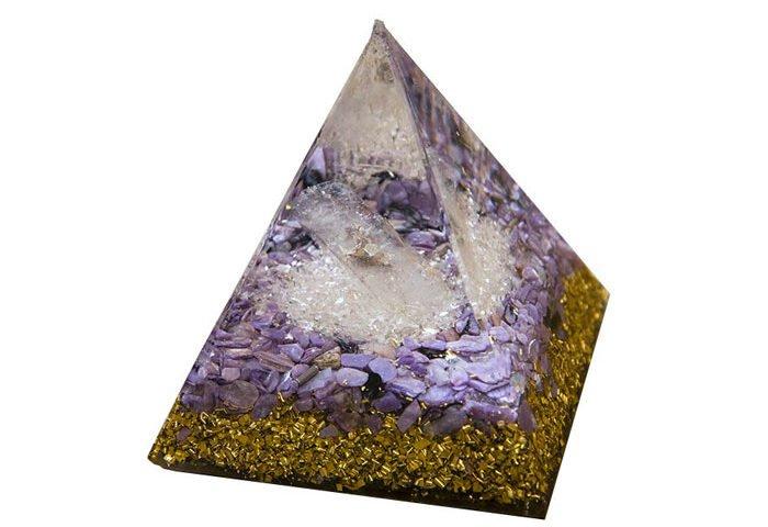 pierre orgonite