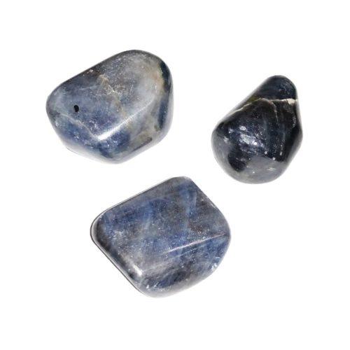 Sapphire tumbled stones