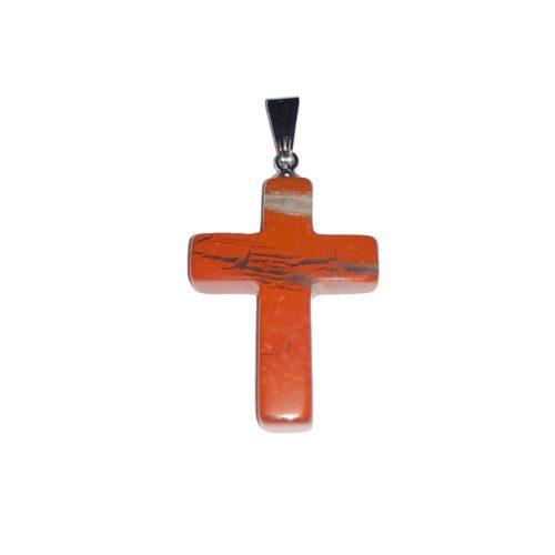 Red Jasper Pendant Cross