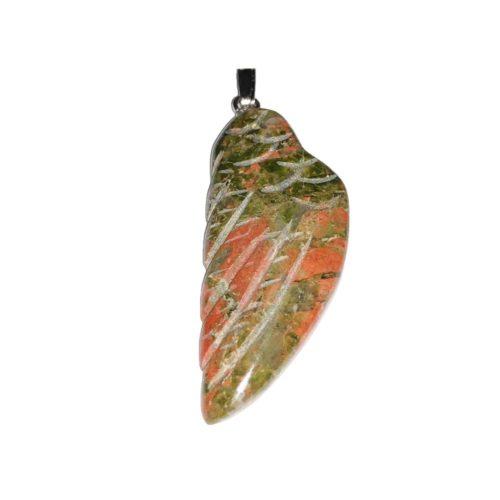 unakite-angel-wing-pendant