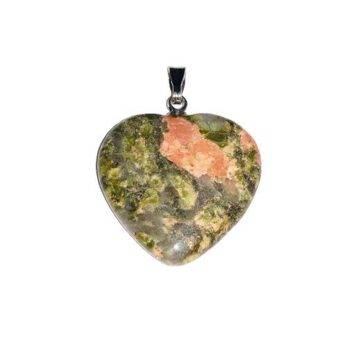unakite-small-heart-pendant