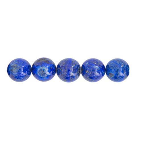 perle ronde lapis lazuli 10mm