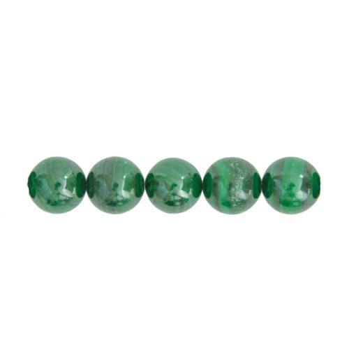 Malachite Beads 10mm