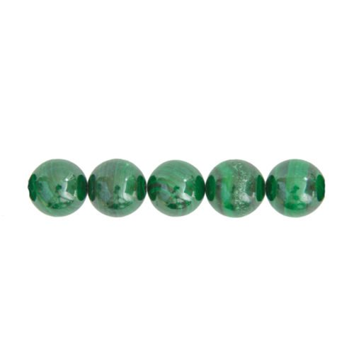 Malachite Beads 14mm