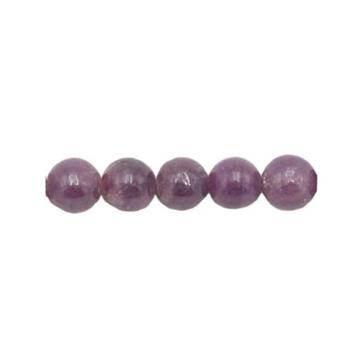 ruby beads 8 mm