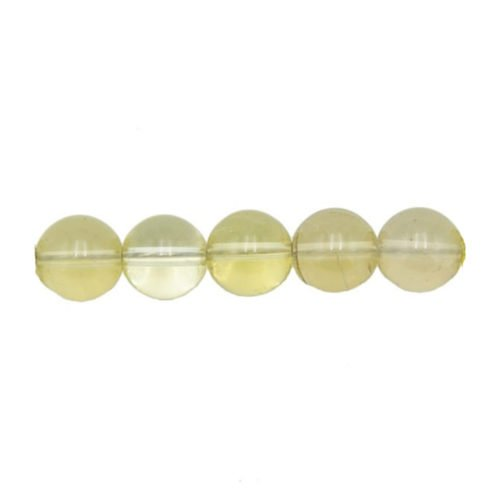 Lemon Topaz Beads 6 mm