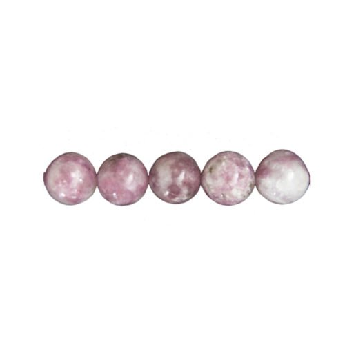 Pink Tourmaline Beads – 6 mm