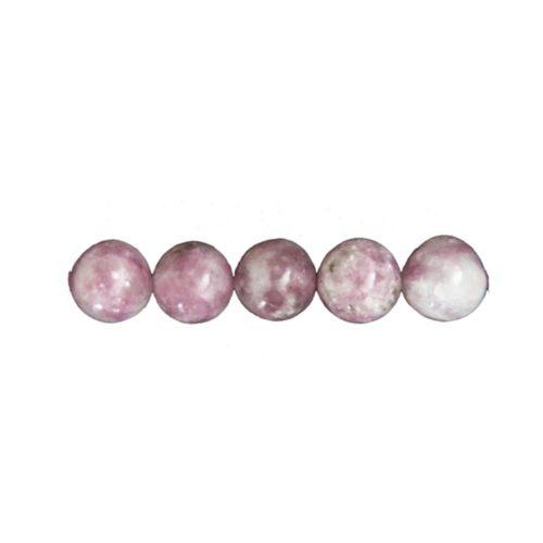 Pink Tourmaline Beads – 8 mm
