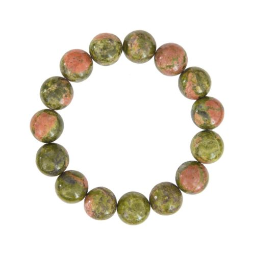 bracelet épidote 12mm