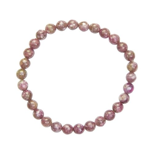bracelet rubellite 6mm
