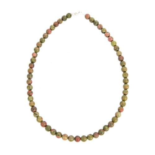 Epidote Necklace - 8mm