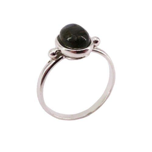 camille labradorite silver ring