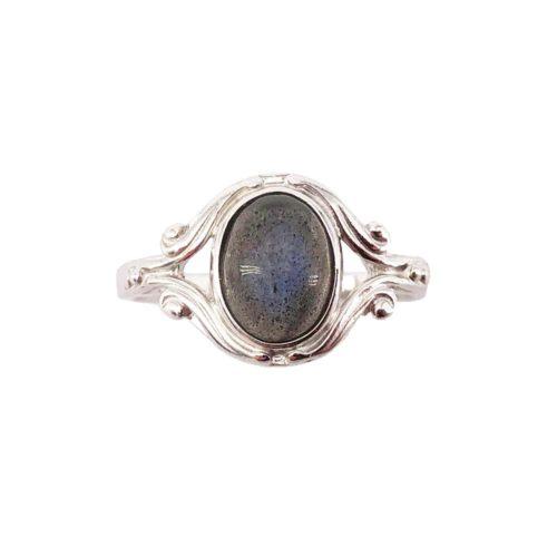 honorine labradorite 925 silver ring