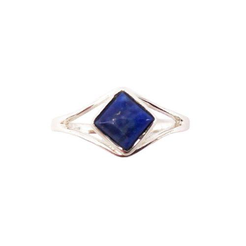 elisabeth lapis-lazuli silver ring