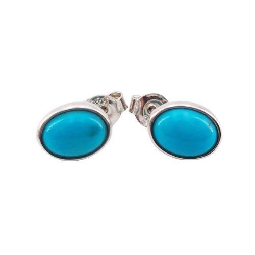 boucle oreilles turquoise