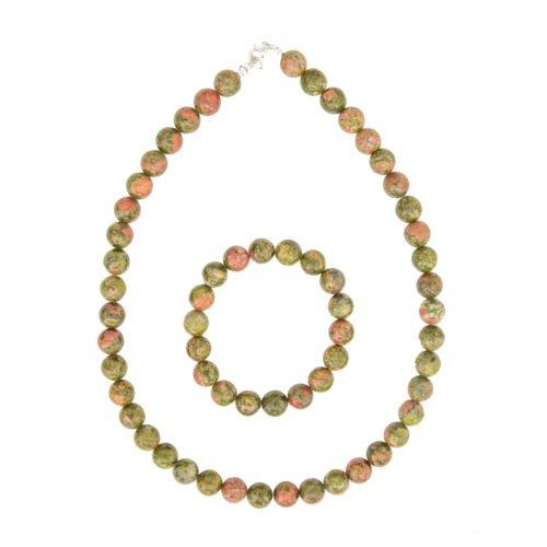 epidote-jewellery-set-stone-beads-10mm